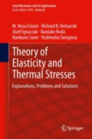Cover of: Theory Of Elasticity And Thermal Stresses