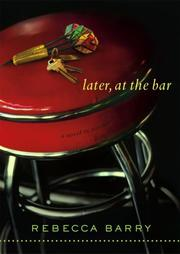Cover of: Later, at the Bar