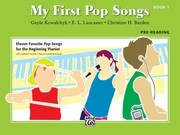 Cover of: My First Pop Songs