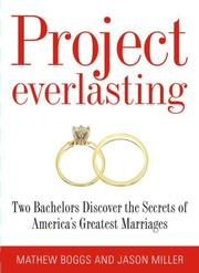 Cover of: Project Everlasting | Mathew Boggs
