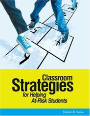 Cover of: Classroom Strategies For Helping At-Risk Students