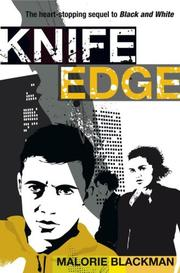 Cover of: Knife edge | Malorie Blackman
