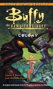 Cover of: Colony | Laura J. Burns