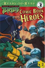 Cover of: Comic book heroes