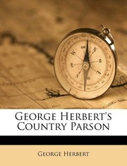 Cover of: George Herberts Country Parson