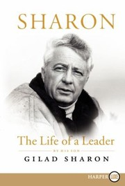 Cover of: Sharon The Life Of A Leader