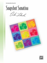 Cover of: Snapshot Sonatina Sheet