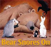 Cover of: Bear snores on
