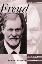 Cover of: Freud (Modern Masters)