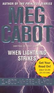 Cover of: When Lightning Strikes (1-800-Where-R-You #1)