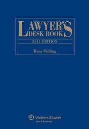 Cover of: Lawyers Desk Book 2011