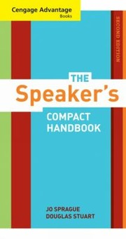 Cover of: The Speakers Compact Handbook