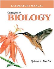 Cover of: Laboratory Manual To Accompany Concepts Of Biology