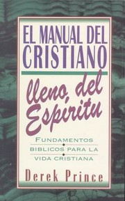 Cover of: Manual del Cristiano Lleno del Espiritu Santo
