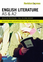 Cover of: As And A2 English Literature
