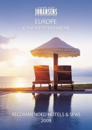 Cover of: Cond Nast Johansens Recommended Hotels Spas Europe The Mediterranean 2009