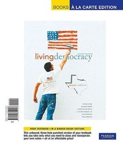 Cover of: Living Democracy Texas Edition Books a la Carte Edition