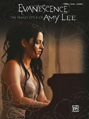 Cover of: Evanescence The Piano Style Of Amy Lee Piano Vocal Chords