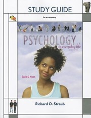 Cover of: Study Guide for Psychology in Everyday Life