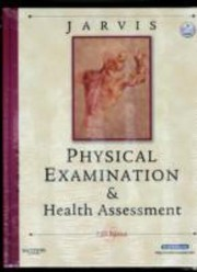 Cover of: Physical Examination And Health Assessment Mosbys Nursing Video Skills Physical Examination And Health Assessment