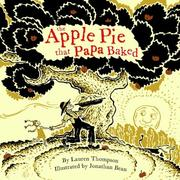 Cover of: The apple pie that papa baked