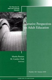 Cover of: Narrative Perspectives On Adult Education