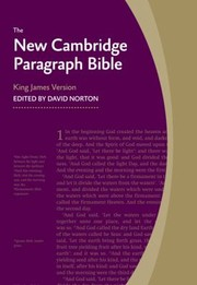 Cover of: The New Cambridge Paragraph Bible King James Version