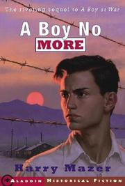 Cover of: Boy No More