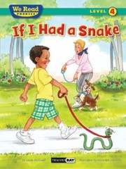 Cover of: If I Had a Snake  We Read Phonics  Level 4 Hardcover