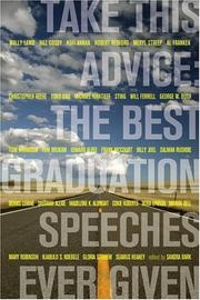 Cover of: Take This Advice