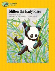 Cover of: Milton the early riser |