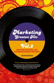 Cover of: Marketing Greatest Hits Another Masterclass In Modern Marketing Ideas