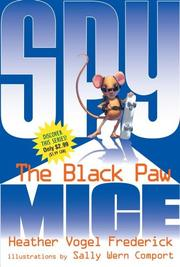 Cover of: The Black Paw (Spy Mice) | Heather  Vogel Frederick