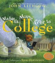 Cover of: Mahalia Mouse Goes to College: Book and CD