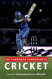Cover of: The Cambridge Companion To Cricket