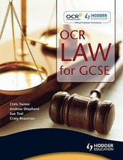 Cover of: Ocr Law For Gcse