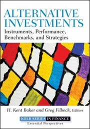 Cover of: Alternative Investments