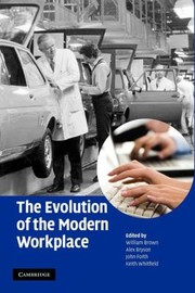 Cover of: The Evolution Of The Modern Workplace