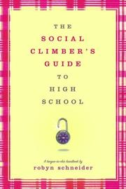 Cover of: The Social Climber's Guide to High School