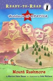 Cover of: Mount Rushmore (Ready-to-Read) |