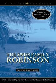 Cover of: The Swiss Family Robinson (Aladdin Classics)