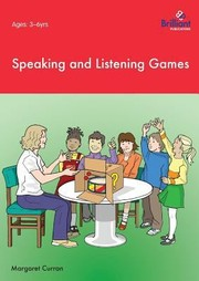 Cover of: Speaking And Listening Games