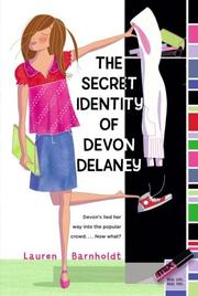 Cover of: The Secret Identity of Devon Delaney