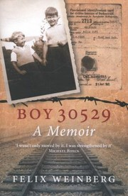 Cover of: Boy 30529 A Memoir |