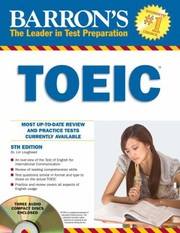 Cover of: Barrons Toeic Test Of English For International Communication