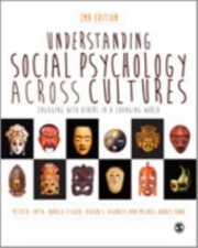 Cover of: Understanding Social Psychology Across Cultures