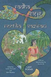 Cover of: Radha Says Last Poems
