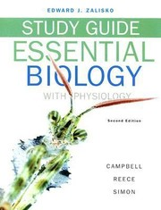 Cover of: Study Guide For Essential Biology Essential Biology With Physiology