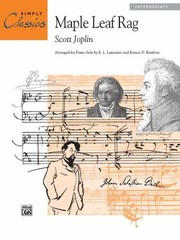 Cover of: Maple Leaf Rag
