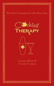 Cover of: Cocktail Therapy | Leanne Shear